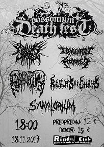 Possonium death fest