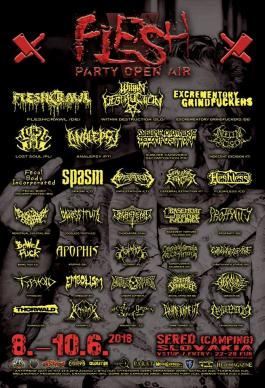 Flesh Party Open Air 2018
