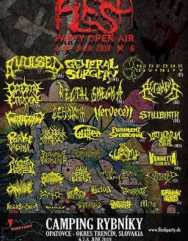 FLESH PARTY OPEN AIR 2019