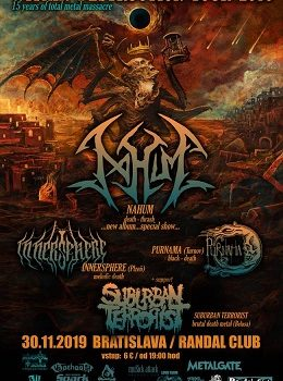 WITHIN DESTRUCTION TOUR 2019 – BRATISLAVA